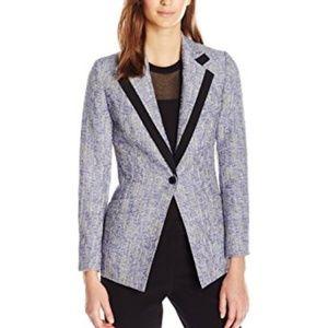 Anne Klein Women's Wide Notch Collar Blazer 6